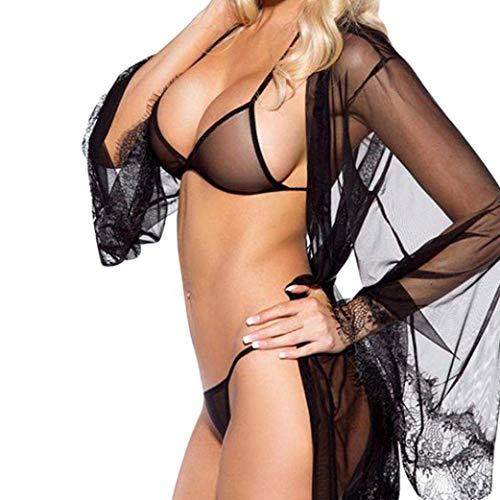 Exotische Damenbekleidung Sexy Hot Erotische Babydoll Kleid Erotische Spitze Unterwäsche Sexy Versuchung Dessous Frauen Spitze Vorne Offen Nacht Kleid Mini Sex Kleidung