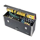 Parat 5480000041 5480.000-041 Sanitärtasche Werkzeugkoffer Werkzeugtasche Sanitär lange Ausführung mit Tragegriff robust feuchtigkeitsresistent