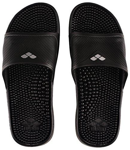 Arena ES Unisex-Erwachsene 0000080635 Flip-Flops, Schwarz (Solid Black), 38 EU (Damen Schuh Solid Schwarz)