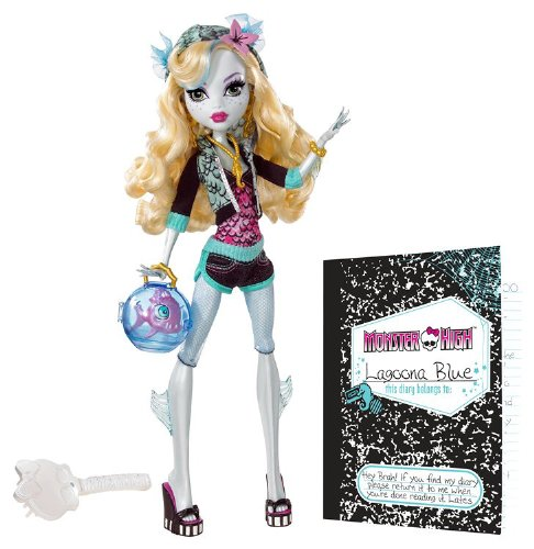 Monster High - Lagoona Blue Edition 1 - 2009 (Monster High Lagoona)