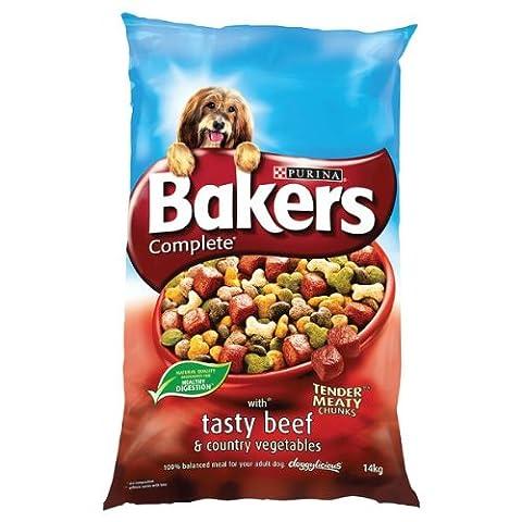 Bakers Complete Tender charnus morceaux avec Tasty Beef & Légumes Pays 14 kg