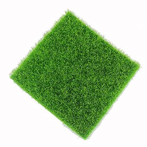 Artificial Grass Fake Lawn Fake Grass Miniature DIY Dollhouse Garden Home Decoration Ornament