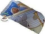 BlueberryShop Clásica Sábana con una Almohada Manta Edredón Saco de Dormir Regalo del Bebé Algodón 0-4m ( 0-3m ) ( 78 x 78 cm ) Crema Elefante