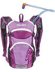 SOURCE Spry Trinkrucksack Kinder 1,5l Purple 2017 Outdoor