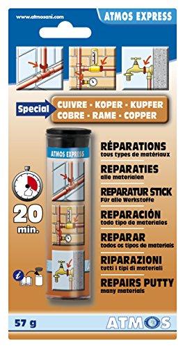 Atmos 1111 Mastic Special Cuivre 57 Gr, Marron