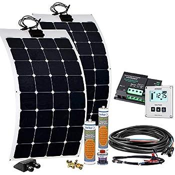 offgridtec wohnmobil solaranlage spr f 200 220w 12v mit flexiblen solarmodulen und mppt dual. Black Bedroom Furniture Sets. Home Design Ideas