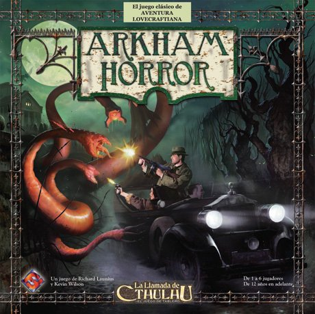 Arkham Horror - Juego de tablero (Fantasy Flight Games FFAH01)