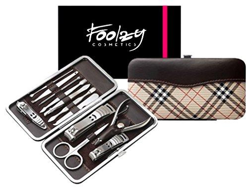 Foolzy MS-JMD-74 12 in 1 Manicure Pedicure Set Kit
