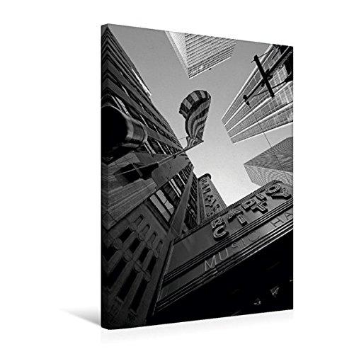 CALVENDO Tela in Tessuto Premium 50 cm x 75 cm di Altezza, Un Motivo dal Calendario New York, Immagine da Parete su Telaio a Cunei, su Vera Tela, Stampa su Tela Orte