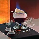Kela 366160 Glas-Feuerzangenbowle-Set, Heinz Rühmann, 15-teilig, 3,5 l, Feuerzangenbowle Heinz Rühmann Test