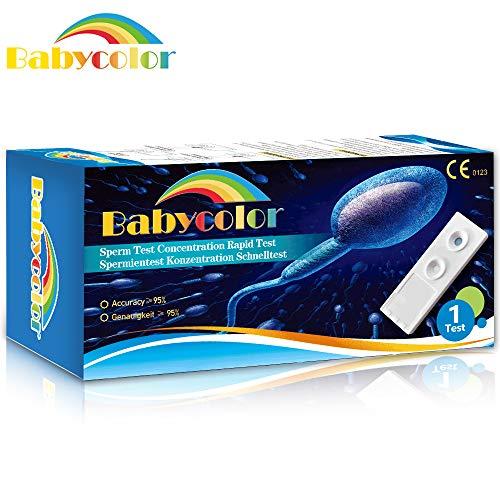 Fruchtbarkeitstest, Zeugungsfähigkeit Spermien Test, Spermien Fertilityscore Schnell Zuhause Test, Sperma Test Fertilität für Männer, Diskreter Versand (1 Test)