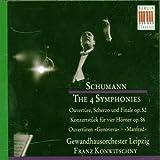 Robert Schumann : les 4 Symphonies