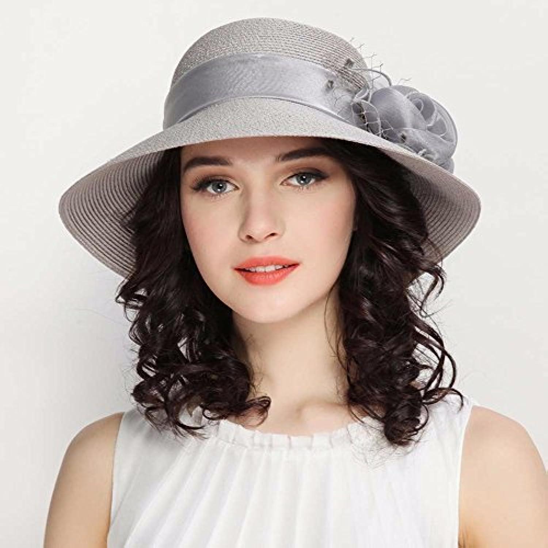 Hat Cappello di Paglia Estate Ombra Sun Prossoection Holiday cap Cappello  Travel Holiday Prossoection Seaside Beach Estate Fiore d677399b8e78