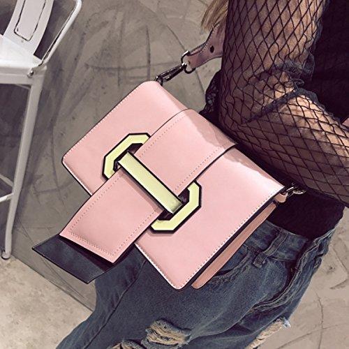 Weibliche mode kleine Weibliche Weibliche Schräge Kreuz paket Rosa