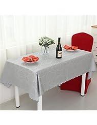LILSN- Los manteles manteles mantel restaurante del hotel Continental redondas manteles de tela tela de mesa mantel redondo falda de cena casero ( Tamaño : 180*180cm )