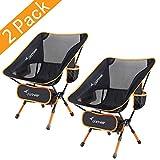 Sportneer Chaise de Camping Pliante, Portable Léger Pliable Camping Chaise pour...