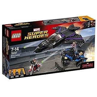 LEGO Super Heroes – A la Caza de Pantera Negra (76047)