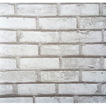 Klebefolie Möbelfolie Klinker Mauer 45 cm x 200 cm selbstklebend Dekorfolie