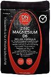 Zinc Magnesium B6 240 Capsules 500mg   Deluxe Formula   Upto 4 months supply