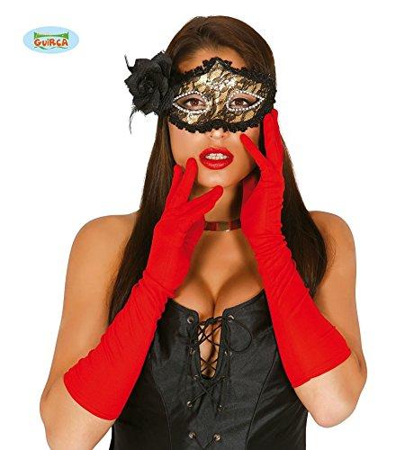 Guirca Fiestas GUI16498 - Ein Paar Rote Handschuhe, -
