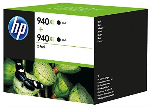 Preisvergleich Produktbild Original Tinte hp 940XL D8J48AE für hp, Doppelpack schwarz