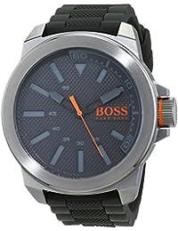 Hugo Boss Orange 1513005 - Reloj analógico de pulsera para hombre, correa de silicona