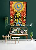 Bob Marley Tapestry, Twin Bohemian Wall Hanging, Hippie Dorm Room Decorations, Boho Picnic Throw Blanket, Indian Wall Tapestries
