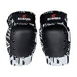 Unbekannt Ski Snowboard Roller Skating Schutz Gear Knieschoner Guards Protektoren Verdickte, Unisex