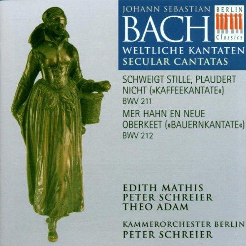 Cantate du café, BWV 211 / Cantate des paysans, BWV 212 [Import anglais]