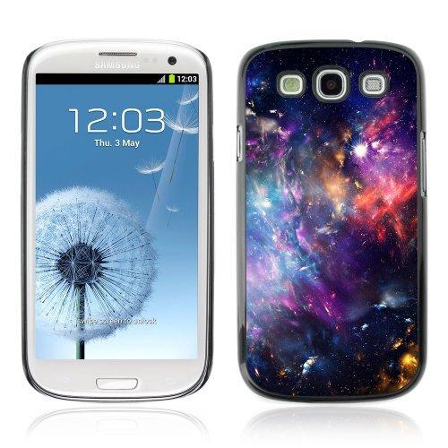 ouucase Coque rigide pour Samsung Galaxy S3Motif Mystical Space Galaxy Nuages DIY HD Housse PC Pour New Design