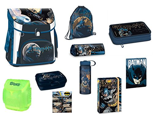 Batman 10- teiliges Schulranzen Set