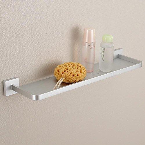 QUEEN'S Bagno in alluminio ripiani e vestire lo spazio di ingombro del banco scaffali montati a parete bagno rack di storage