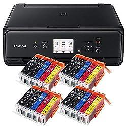 Hochwertiger Multifunktions-Drucker CANON Pixma TS 5050 in Top-Qualität. Mit WLAN-Multifunktionssystem zum Drucken, Kopieren und Scannen. Der TS 5050 punktet durch großes Farbdisplay, hohes Drucktempo, sowie geringem Stromverbrauch. Mit der neuen Fun...