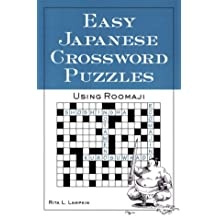 Easy Japanese Crossword Puzzles: Using Roomaji