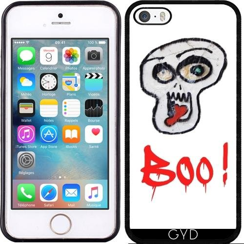 Coque pour Iphone SE - Boo! by LesImagesdeJon Silicone