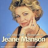 Les Plus Belles Chansons De Jeane Manson