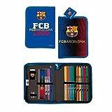 Export.CM 097218 FC Barcelona - Estuche para bolígrafos (20,5 x 12 cm)