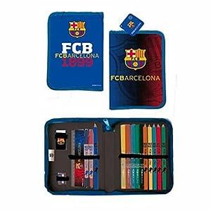 Export.CM F.C. Barcelona-Estuche para bolígrafos (20,5 x 12 cm), Multicolor (CASA Y MENAJE 2015 S.L 097218)