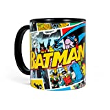Batman Retro Tasse Comic Style mikrowellenfest spülmaschinenfest Keramik 300ml