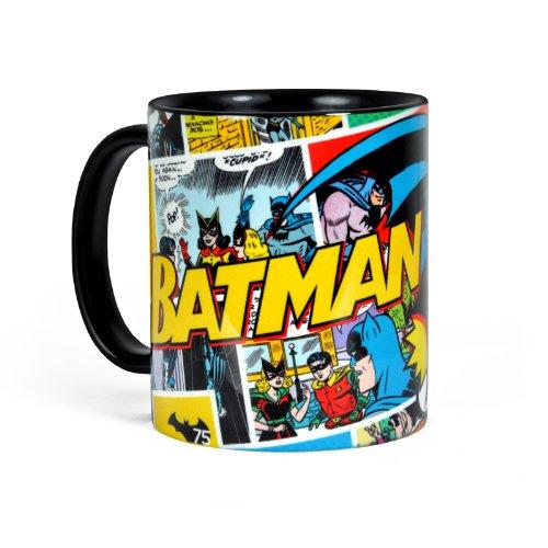 Batman - taza retro cómic - adecuada microondas lavavajillas