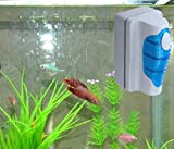 Malloom magnética Cepillo Raspador limpiador de vidrio para Acuario Pescado tanque algas (pequeña)