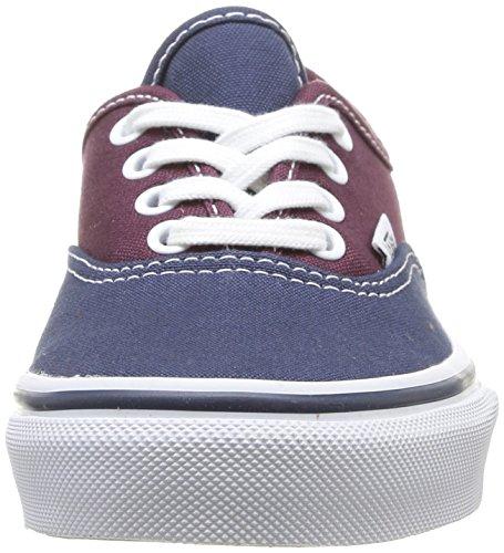 Tone Dress Sneaker Vans Unisex K Authentic Bleu 2 Erwachsene IWqO0wW8