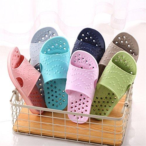 Auspicious beginning Les femmes et les hommes de la mode évider Sandal Bathroom Slippers D-rose