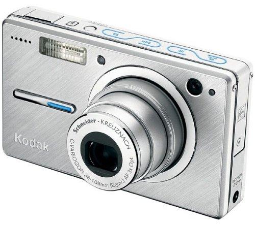 Kodak EasyShare V550 Digitalkamera (5 Megapixel) in silber inkl. Picture Frame Dock