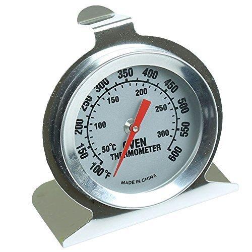 First 4 Ersatzteile Premium Grade High Temperature Präzision in Edelstahl Backofen Thermometer Temperaturanzeige (Präzisions-haus)