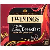 Twinings 1706 Té Fuerte Desayuno 80 Por Paquete