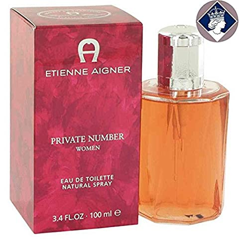 Private Number FOR WOMEN by Etienne Aigner - 100 ml EDT Spray