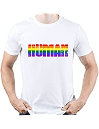 EUGINE DREAM LGBT Rights All Human Are Equal Camiseta para Hombre