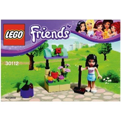 LEGO Friends: Emma's Flower Stand Establecer 30112