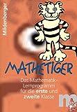 Mathetiger 1 / 2. CD-ROM: Einzellizenz bis zu drei Anwender.Das Mathematik-Lernprogramm für die erste und zweite Klasse